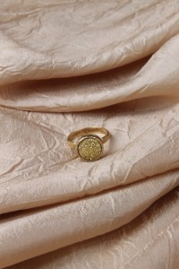 Medium gold drusy ring 3