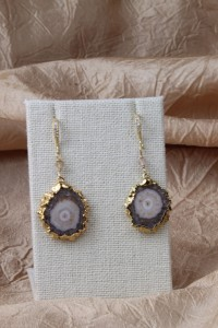 Small stalactite earrings