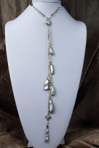 Mabe pearl lariat